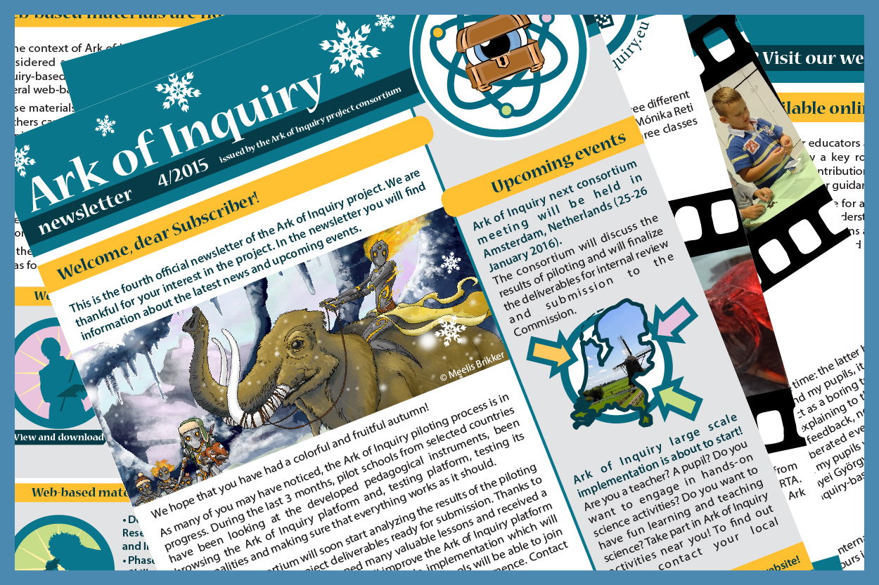 News Ark Of Inquiry Simple Circuit Making Activity And 4th Newsletter Is Published Read Download Share Here Http Bitly Newsletter4