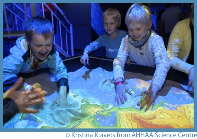 Pupils at AHHAA Science Centre